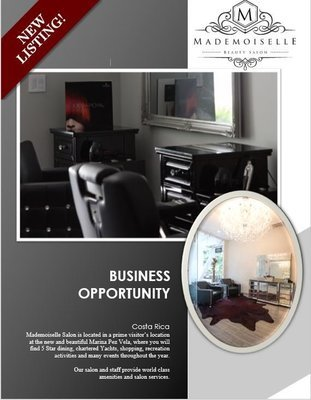 Great Business Oppotunity - High End Salon For Sale
