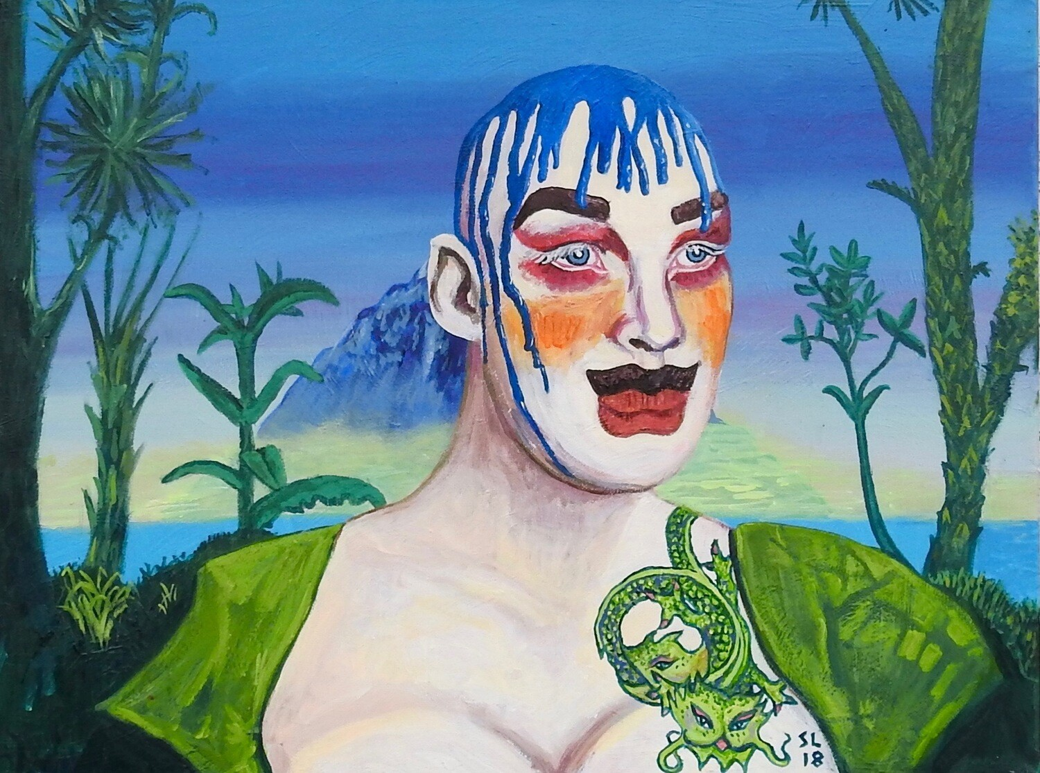 Leigh Bowery in Paradise (Free Shipping!)