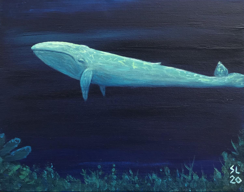 'Whale Blue'