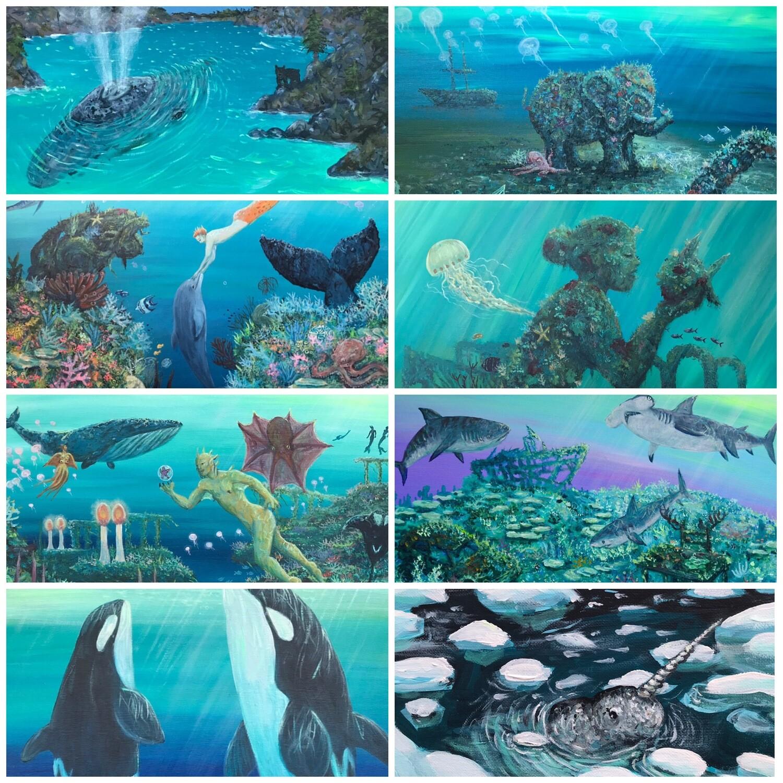2021 Ocean Art Calendar