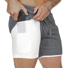 2 in 1 Athletic Shorts