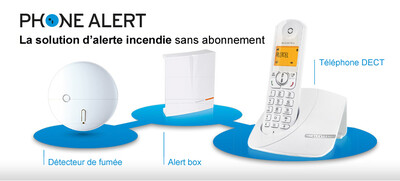 ALCATEL phone Alert Incendie