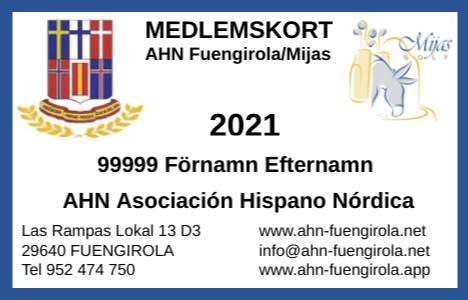 Medlemsavgift 2021