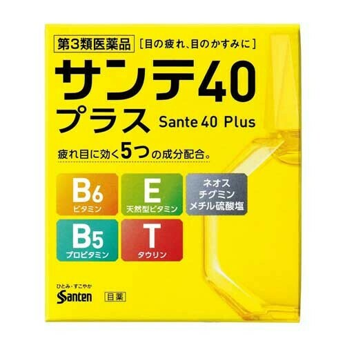 Sante 40 Plus Eye Drops