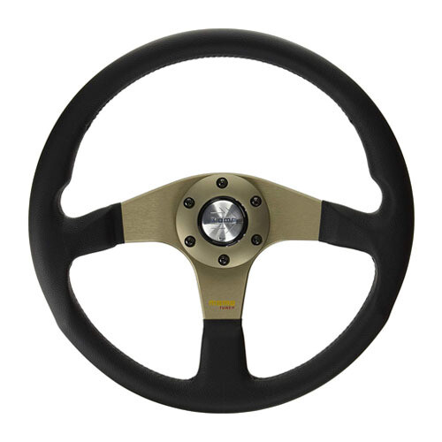 Steering Wheel Momo Tuner 35 Pie BK 12 WT