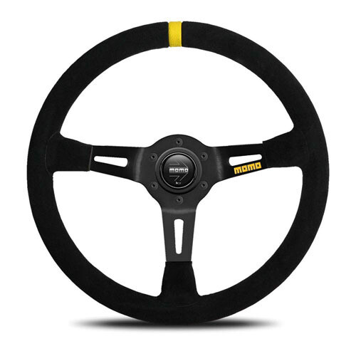 Steering Wheel Momo Mod. 08 35 Pie BK/Suede Medium – 60