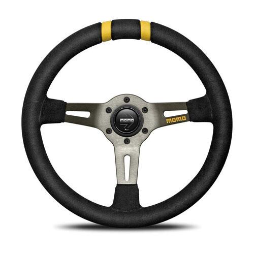 Steering Wheel Momo Drift 33Pie BK/Suede D–20