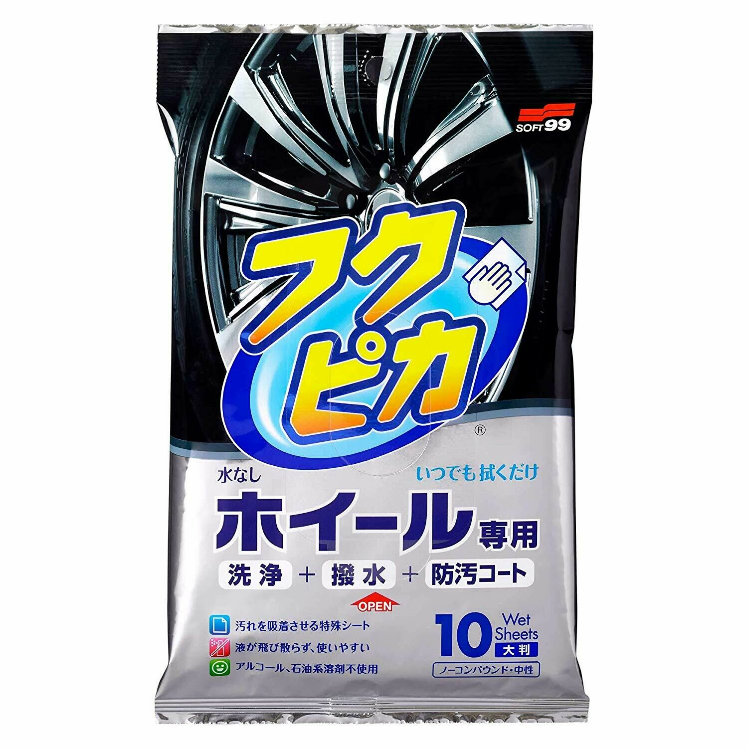 Soft99 Wheel Cleaning Wipe
