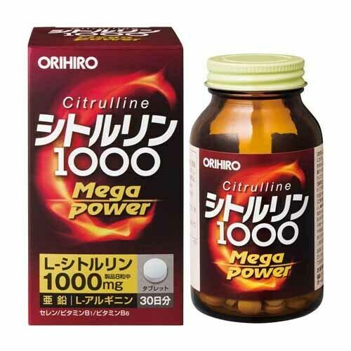 ORIHIRO Citrulline MegaPower 1000
