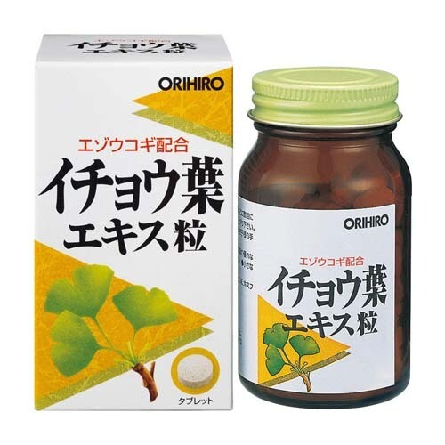 ORIHIRO Ginko Leaves Extract