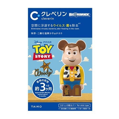 Cleverin Bearbrick Toy Story Woody
