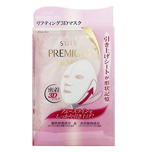 SUISAI Kanebo Premiality Lift Moisture 3D Mask