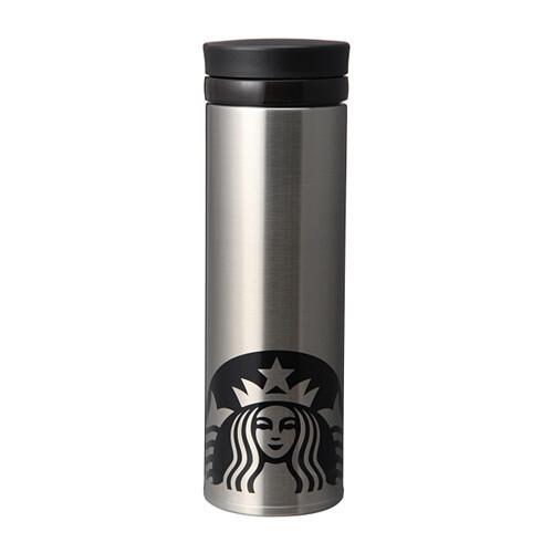Starbucks Stainless steel ring bottle silver 500ml