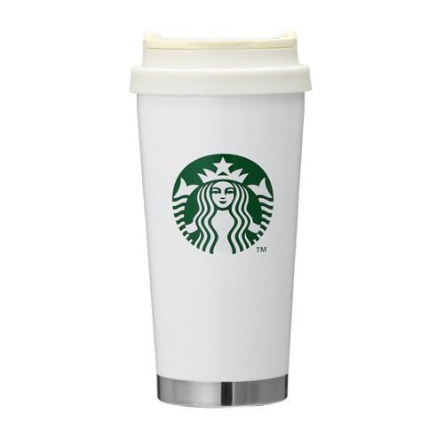 Starbucks Stainless steel ToGo logo tumbler White 470ml