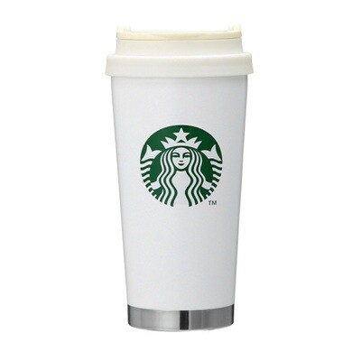 Starbucks Stainless steel ToGo logo tumbler White 470ml