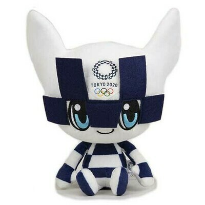Tokyo 2020 Olympic Games Mascot Plush Toy Official Merchandise