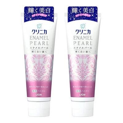 LION ENAMEL PEARL x 2pc Toothpaste