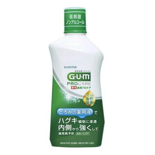 SUNSTAR GUM Pro Care Mouthwash
