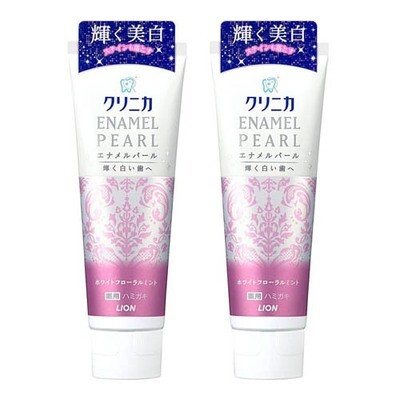 LION ENAMEL PEARL  Toothpaste x2pcs