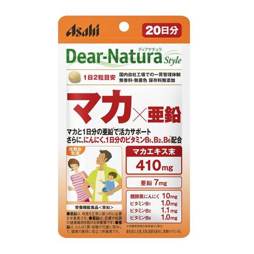 Asahi Dear-Natura Style Maca & Zinc