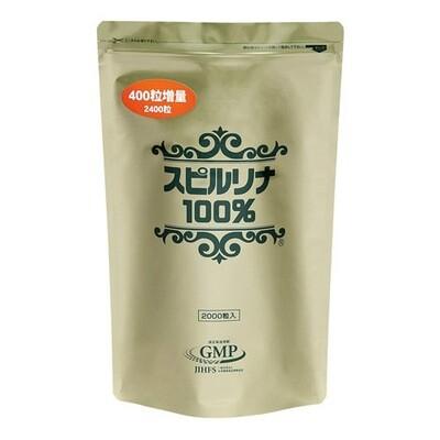 Algae 100% Spirulina 2400