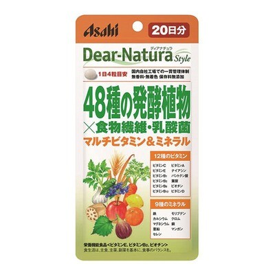 Asahi Dear-Natura Style Plant fermentation extract with vitamins and minerals