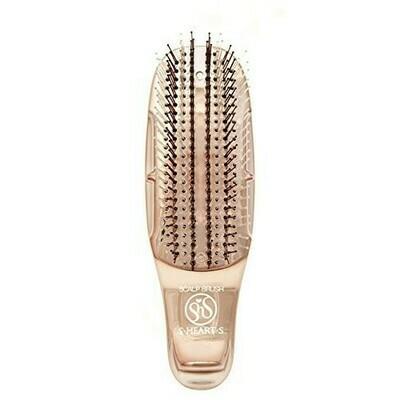 S-Heart-S Mini Gold Scalp Brush