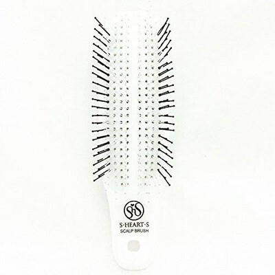 S-Heart-S Mini White Scalp Brush