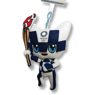 Tokyo 2020 Olympic Mascot Plush Toy Official Merchandise (SS Size)(Blue)