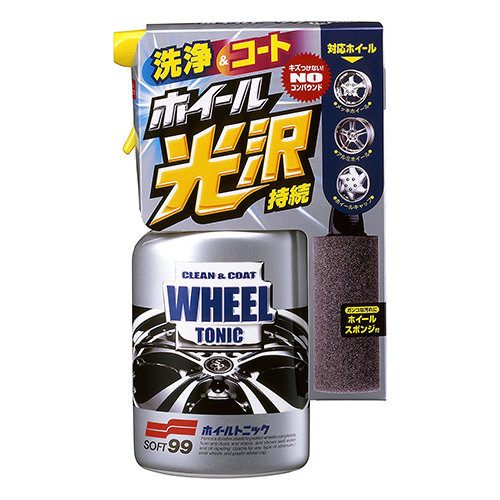 Soft99 New Wheel Tonic 400