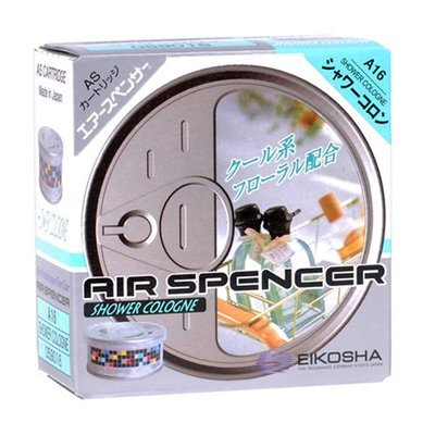 Eikosha Air Spencer Shower Cologne