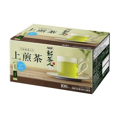 AGF New Tea Uji Tea with Green Tea 100 Sencha Sticks 100