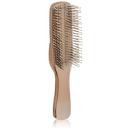 S-Heart-S Long Gold Scalp Brush
