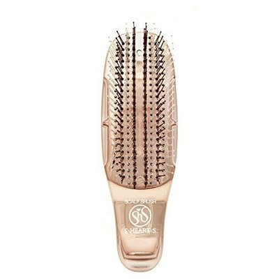S-Heart-S Mini Gold Scalp Brush