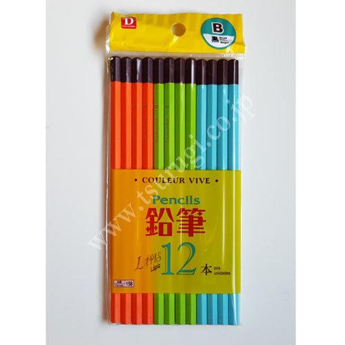 12Pcs B Pencils