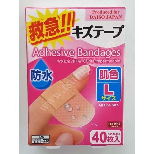 Adhesive Bandages 40pcs L Size