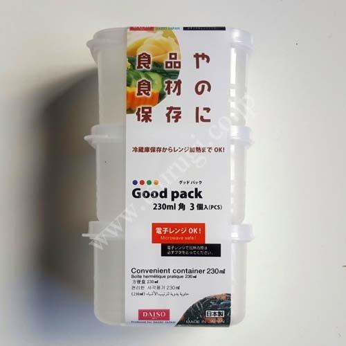 Good Pack 230ml 3pcs
