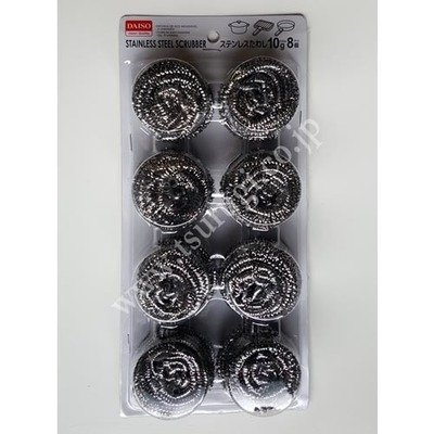 Stainless Steel Scrubber 8Pcs