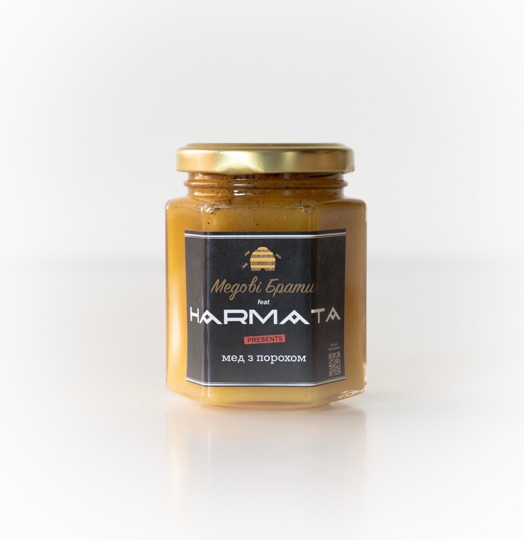 """HARMATA"" мед з чорним перцем"