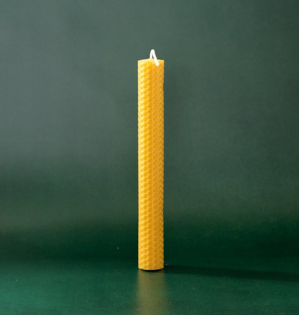 Свічка з вощини