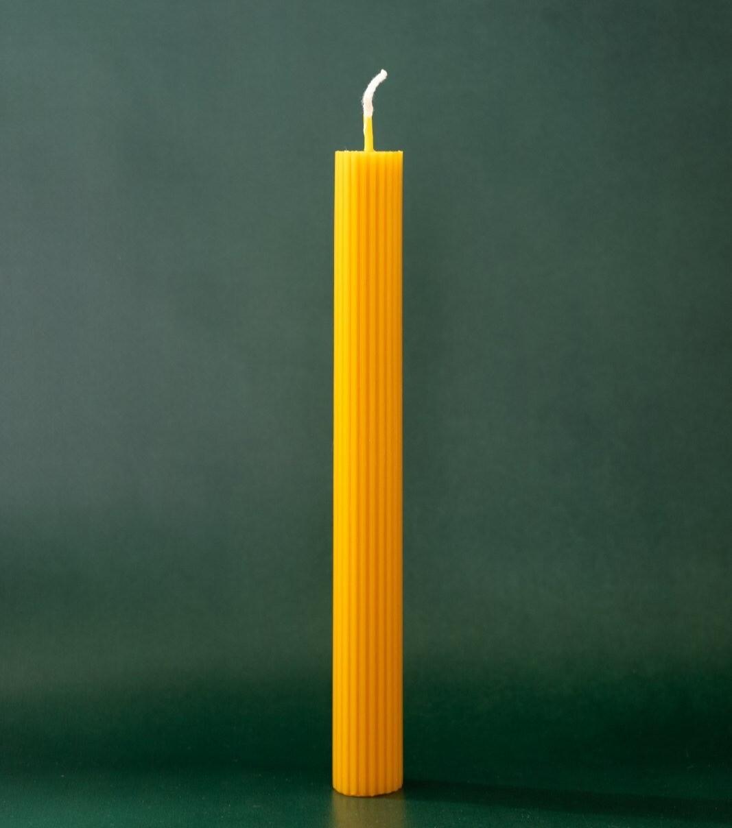 Свічка рифлена