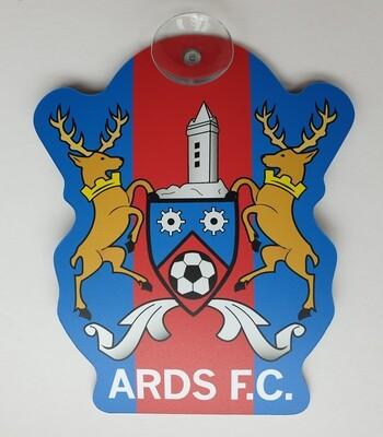 Ards FC Window Sticker