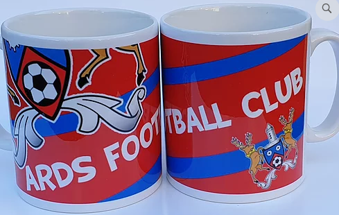 Ards FC Branded Mugs