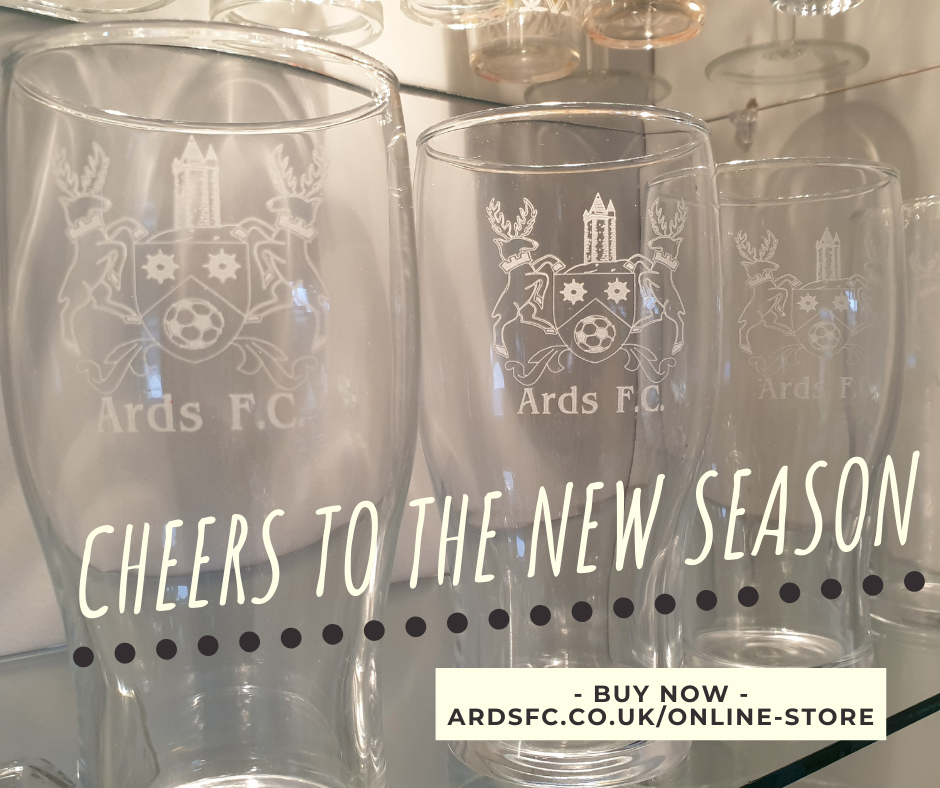 ARDS FC PINT GLASS