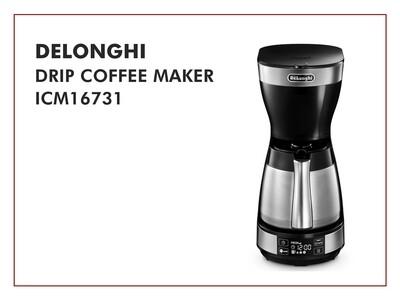 DeLonghi Drip Coffee Maker - ICM16731
