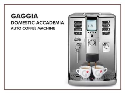 Gaggia Auto Domestic Accademia Coffee Machine