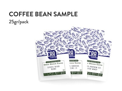 Coffee Bean Sample 25g (limit 2 per order)
