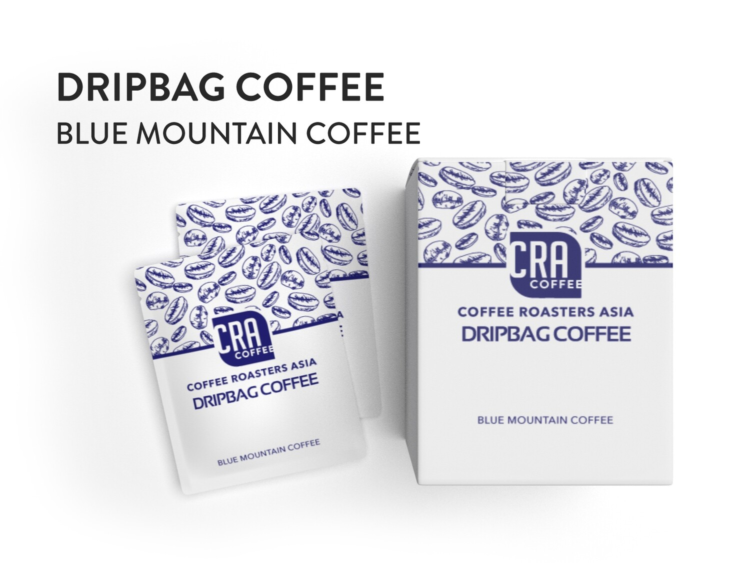 Drip Bag Coffee - Blue Mountain Coffee 10 bags (medium dark roast)