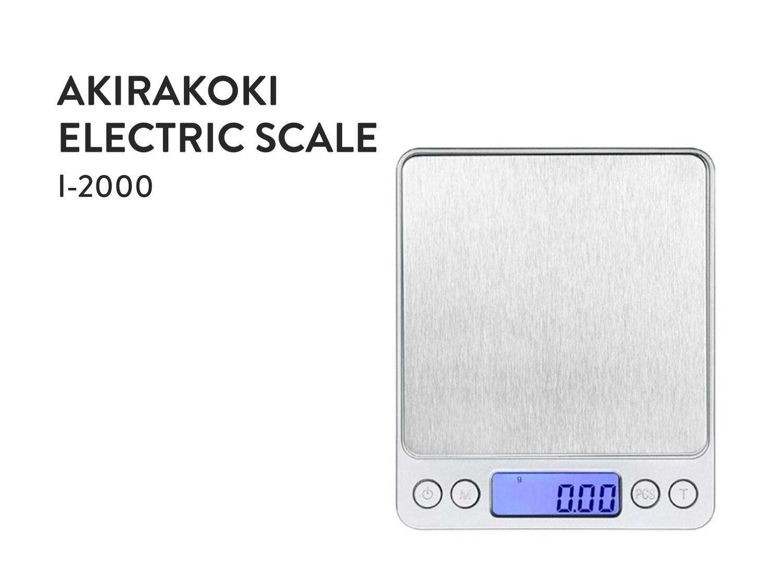 Akirakoki Electric Scale I-2000
