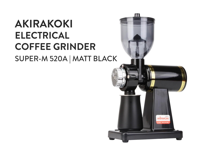 Akirakoki Electrical Coffee Grinder M-520A Matt Black